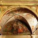 Basilica di Farfa - Particolare degli affreschi