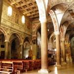 Basilica di Farfa - Vista dalla navata destra