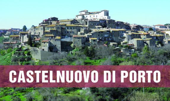 Castelnuovo di Porto e la Rocca Colonna