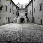 Collalto - Cortile interno del Castello