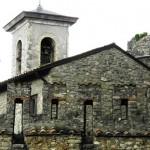 Collalto - Il Castello e il Campanile della Parrocchiale