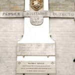 Collalto - Iscrizioni commemorative dei restauri