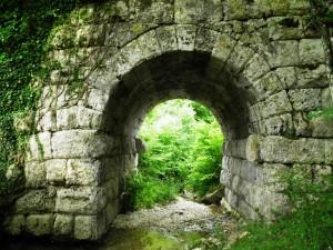 Ponte Sambuco - Via Salaria Antica - Fornice