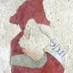 Abbazia di San Pastore - Affreschi