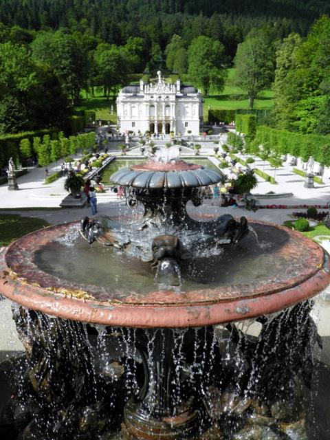 castello di linderhof Schloss Linderhof Ettal ludwig di baviera