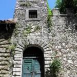 Orvinio - Torretta - Cinta muraria del castello