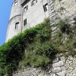 Orvinio - Castello Malvezzi Campeggi - Torrione dal basso