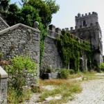Orvinio - Castello Malvezzi Campeggi - Cortile interno