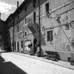 Orvinio - Il Corso prima del restauro