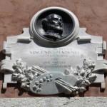 Orvinio - Lapide commemorativa di Vincenzo Manenti