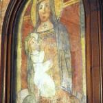 Orvinio - Chiesa di Santa Maria di Vallebona - La Nadonna di Vallebona