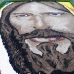 Poggio Moiano - Infiorata 2013 - Gesù