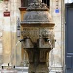 Aix - Fontaine des Trois Ormeaux