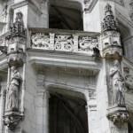 Blois - Castello Reale - Ala Francesco I - Scala - Part