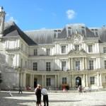Blois - Castello Reale - Il Cortile