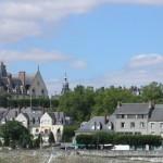 Blois - San Nicola - Panoramica con Pont Gabriel
