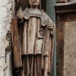 Dinan - Casa di Legno - Statua