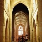 Dinan - Chiesa St Malo - Navata