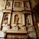 Dinan - St Sauveur - Altare Ligneo