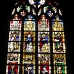 Dinan - St Sauveur - Vetrata Evangelisti
