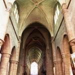 Guerrande - Cattedrale di St Aubin - Navata