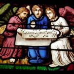 Guerrande - St Aubin - Vetrata Abside - Part