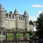 Josselin - Il Castello dal Ponte Sainte Croix