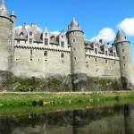 Josselin - Il Castello e il fiume Oust