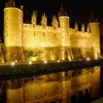 Josselin - Notturno al Castello