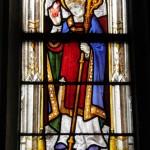 Josselin - Notre Dame - Vetrata Sant'Agostino