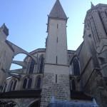 Mont S Michel - La Chiesa - Abside esterna