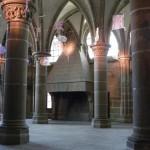 Mont Saint Michel - Salle des Chevaliers