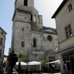Nimes - Cattedrale di Saint Castor - Facciata
