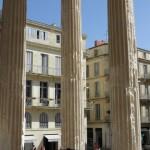 Nimes - Maison Carrées - Colonnato