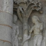 Poitiers - Notre Dame - Adamo ed Eva