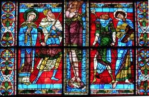 cosa vedere Poitiers Saint Pierre Vetrata della Crocefissione
