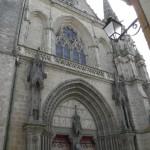 Vannes - Cattedrale - Facciata