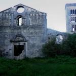Orvinio - Abbazia di Santa Maria del Piano - Facciata