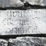 Orvinio - Abbazia S Maria del Piano - Lapide 2