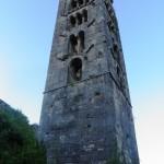 Orvinio - Abbazia S Maria del Piano - Torre Campanaria