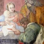 Santa Maria di Vallebona, Orvinio - Adorazione  dei Magi