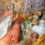 S Maria di Vallebona - La Vergine tra i Santi