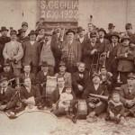 Casperia - La Banda Musicale nel 1922