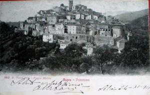 Casperia foto d'epoca cartolina 1911