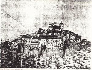 casperia disegno iginio ranieri 1864