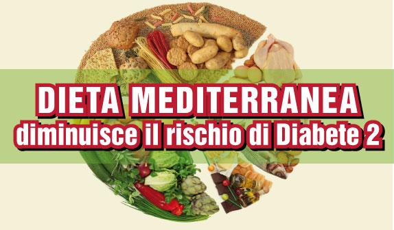 Dieta Mediterranea e Olio d'Oliva: diminuisce il rischio di Diabete di Tipo 2