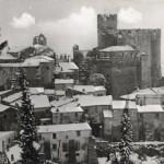 Nazzano - Centro Storico con la neve - Foto Peppe Catelli