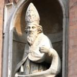 San Prospero - Statua di Santo