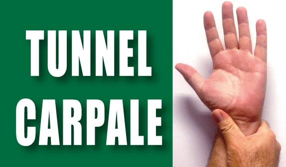 """La mano è entrata nel """" tunnel carpale """": come uscirne ?"""