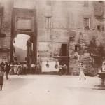 Monterotondo - Piazza del Popolo e Porta Romana - fine 800